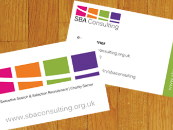 SBA Consulting Business Cards