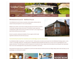 Wellford House B&B Website