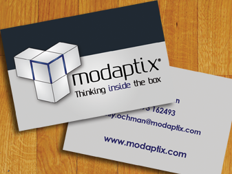 Modaptix Business Cards