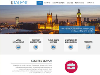 808 Talent Website