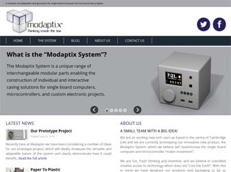 Modaptix Website