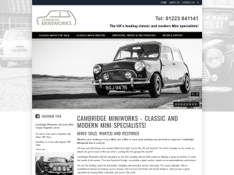 Cambridge Miniworks Website