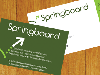 Springboard Business Cards