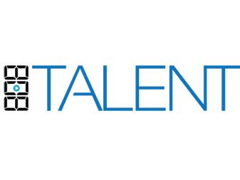 808 Talent Logo