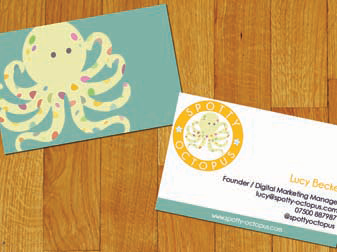 Spotty Octopus Business Cards