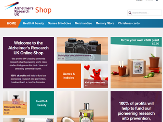 ARUK Shop Website