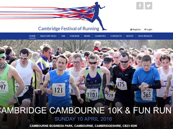Cambridge Cambourne 10k Website