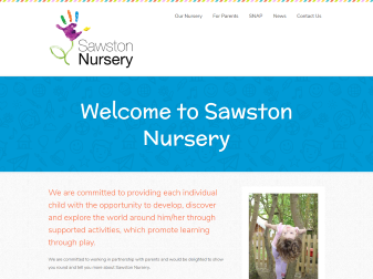 Sawston Nursery Website
