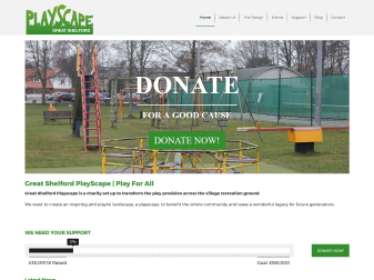Shelford PlayScape Website