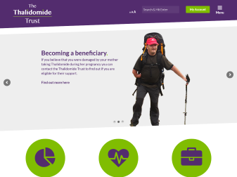 Thalidomide Trust Website