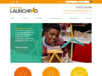 Cambridge LaunchPad Website