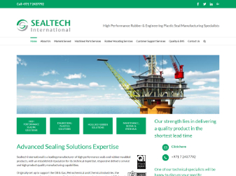 Sealtech International Website