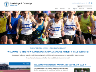 Cambridge & Coleridge Website