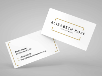 Elizabeth Rose Wines Business Cards