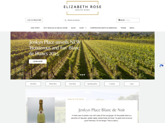 Elizabeth Rose Wines Website