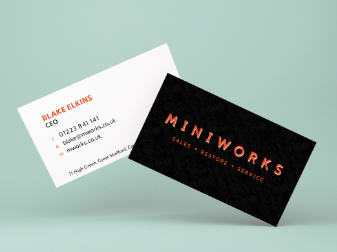Miniworks Business Cards