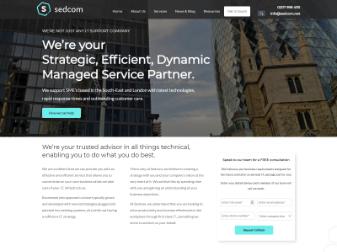 Sedcom Website